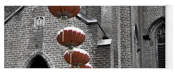 Church Lanterns Yoga Mat