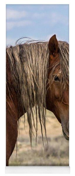 Cimarron - Wild Mustang Stallion Yoga Mat