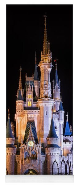 Cinderella's Castle In Magic Kingdom Yoga Mat