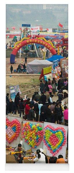 Ciqikou Carnival By The Jialing River Yoga Mat