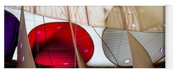 Circles Within Circles - Inside A Hot Air Balloon Yoga Mat