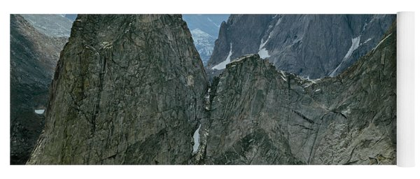 209615-cirque Of Towers, Wind Rivers, Wy Yoga Mat