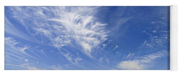 Cirrus Clouds  Yoga Mat