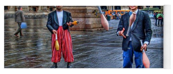 City Jugglers Yoga Mat