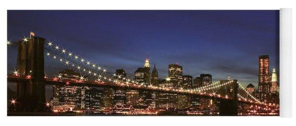 City Of Lights Yoga Mat