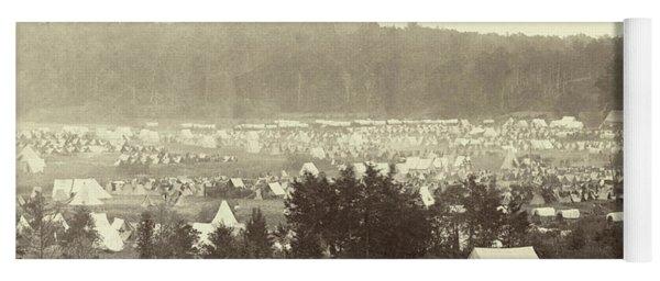 Civil War Camp, 1862 Yoga Mat