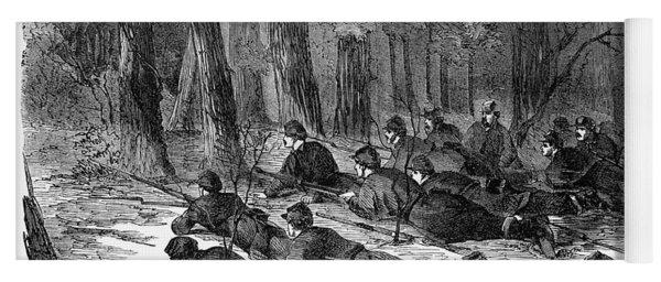 Civil War Soldiers, 1862 Yoga Mat