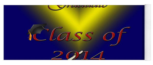 Class Of 2014 Card Yoga Mat