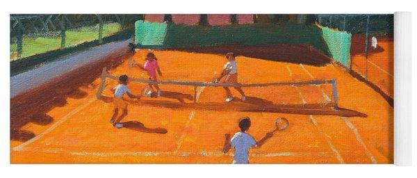 Clay Court Tennis Yoga Mat