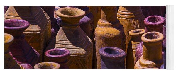 Clay Vases Yoga Mat