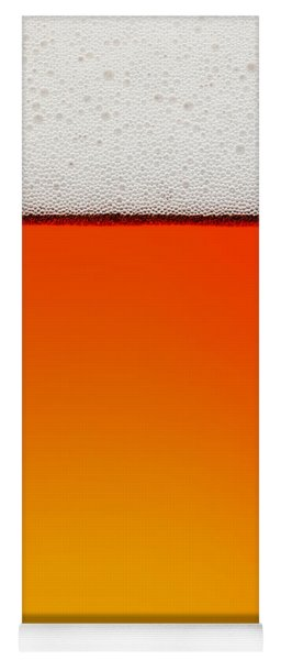 Clean Beer Background Yoga Mat