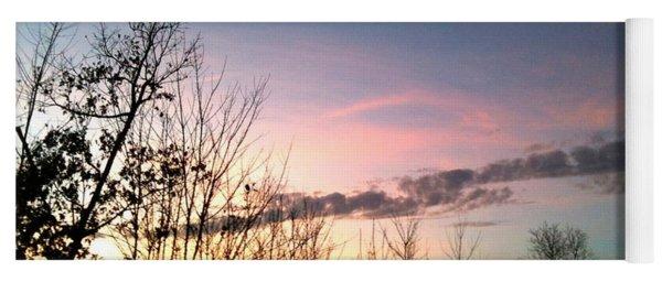 Clear Evening Sky Yoga Mat
