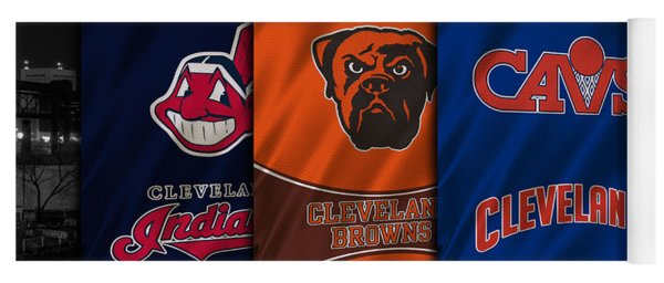Cleveland Sports Teams Yoga Mat