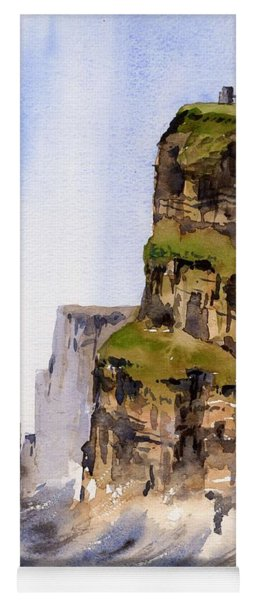 Clare   The Cliffs Of Moher   Yoga Mat