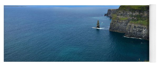 Cliffs Of Moher Looking North Yoga Mat