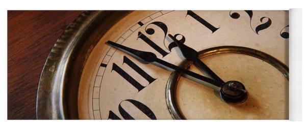 Clock Face Yoga Mat