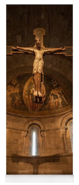 Cloisters Crucifixion Yoga Mat