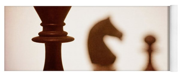 Close Up Of King Chess Piece Yoga Mat