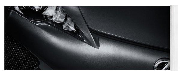 Closeup Of Lexus Lfa Car Yoga Mat