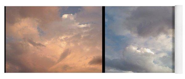 Cloud Diptych Yoga Mat
