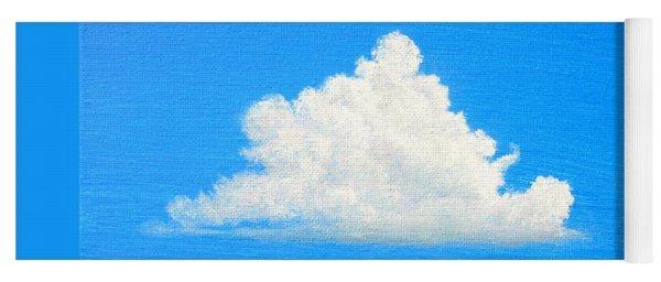 Cloud Over Wetlands Yoga Mat