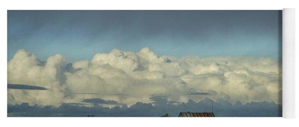 Clouds Of My Mind Yoga Mat
