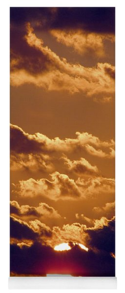 Key West Cloudy Sunset Yoga Mat