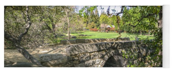 Clover Valley Park Bridge Yoga Mat
