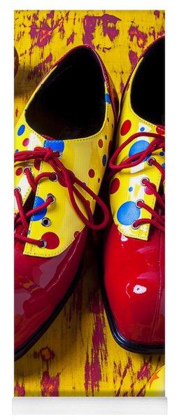 Clown Shoes And Balls Yoga Mat