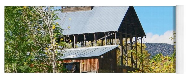 Coal Road Aged Barn Hotchkiss Co Yoga Mat