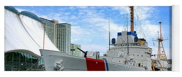 Coast Guard Cutter Taney Yoga Mat
