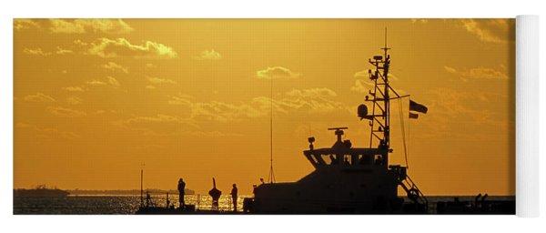 Coast Guard In Paradise - Key West Yoga Mat