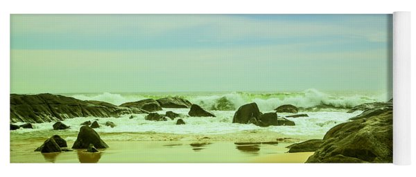 Coastal Landscape Of Sri Lanka Yoga Mat