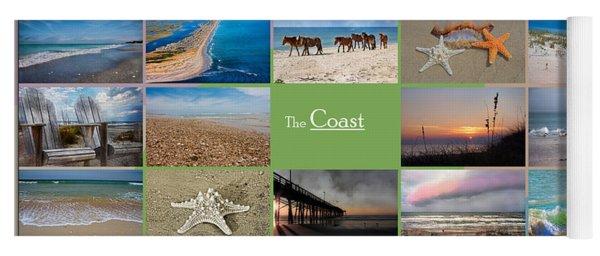 Coastal Winds Yoga Mat