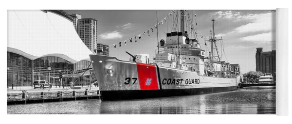 Coastguard Cutter Yoga Mat