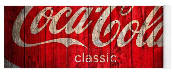 Coca Cola Barn Yoga Mat