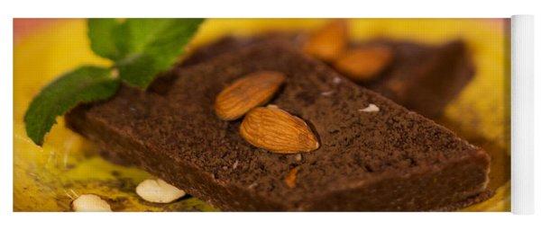 Coconut Almond Squares Yoga Mat
