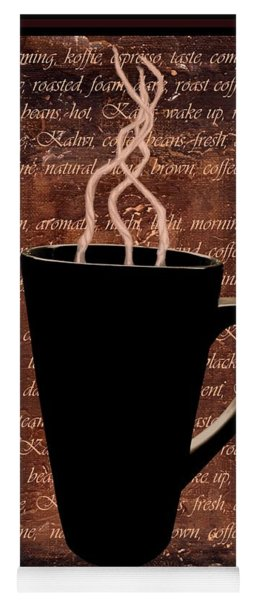 Coffee Time Yoga Mat