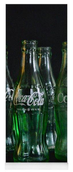 Coke Bottles From The 1950s Yoga Mat