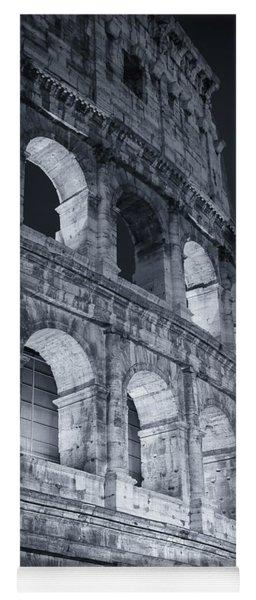 Colosseum Before Dawn Yoga Mat