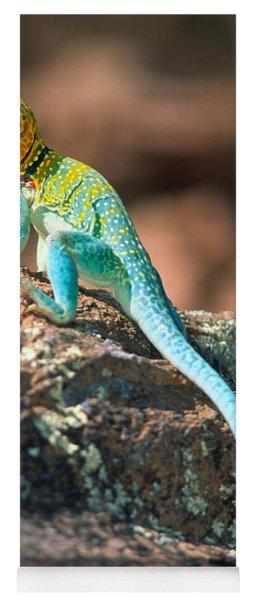 Collared Lizard Yoga Mat