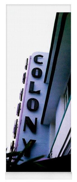 Colony Polaroid Yoga Mat