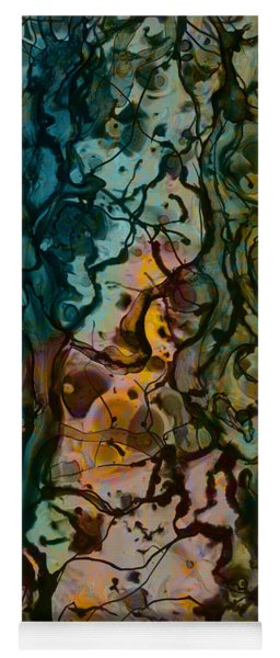 Color Abstraction Xvi Yoga Mat