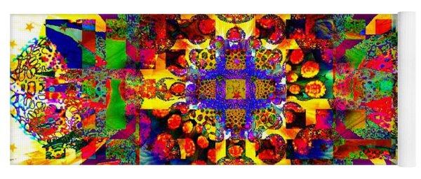 Color Splash Squared Yoga Mat