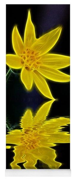 Colorado Wildflower Yoga Mat