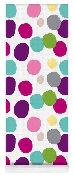 Colorful Confetti 2 Yoga Mat