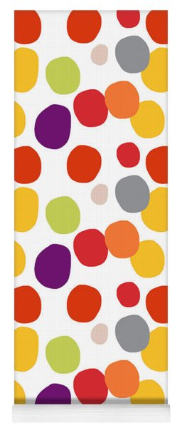 Colorful Confetti  Yoga Mat