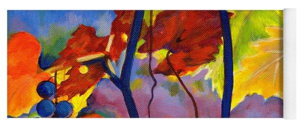 October Colors Yoga Mat