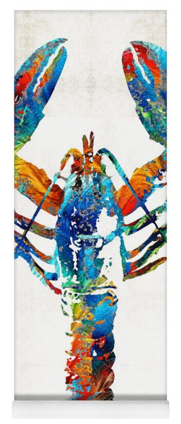 Colorful Lobster Art By Sharon Cummings Yoga Mat