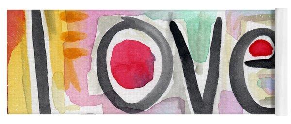Colorful Love- Painting Yoga Mat